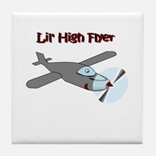 lil' high flyer Tile Coaster