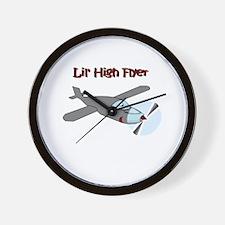 lil' high flyer Wall Clock