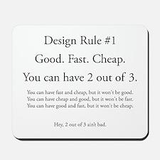 Design Rule Long Mousepad