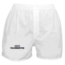 Future Telemarketer Boxer Shorts