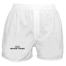 Future Medicine Teacher Boxer Shorts