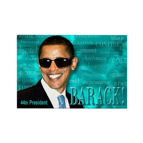 Obama Cool Rectangle Magnet