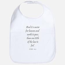 LUKE  16:17 Bib