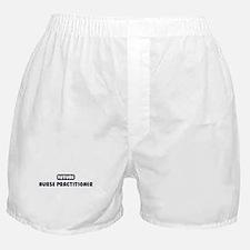 Future Nurse Practitioner Boxer Shorts