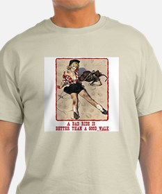 Cowgirl Bad Ride T-Shirt