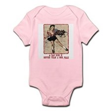 Cowgirl Bad Ride Infant Bodysuit