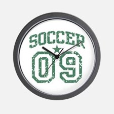 Soccer 09 Wall Clock