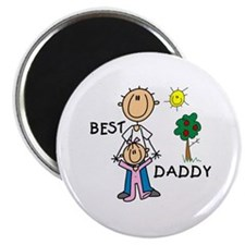 """Best Daddy 2.25"""" Magnet (100 pack)"""