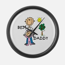 Best Daddy Large Wall Clock