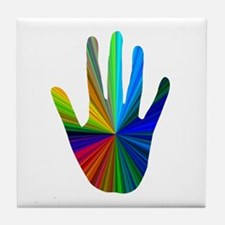 Healing Hand Tile Coaster