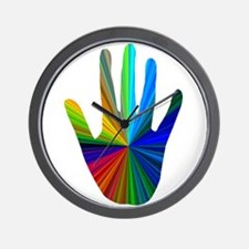Healing Hand Wall Clock