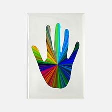 Healing Hand Rectangle Magnet