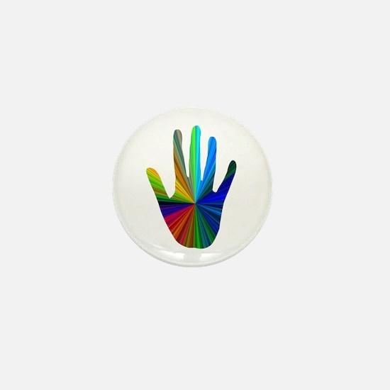 Healing Hand Mini Button