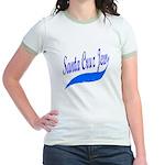 Santa Cruz Jew Uniform-Style Jr. Ringer T-Shirt