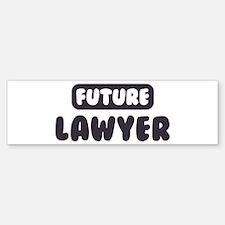 Future Lawyer Bumper Bumper Bumper Sticker
