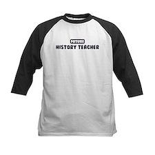 Future History Teacher Tee