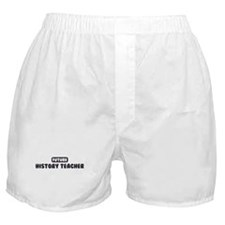 Future History Teacher Boxer Shorts