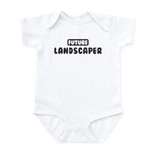 Future Landscaper Onesie