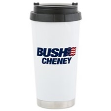 Bush Cheney Travel Mug