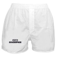 Future Geographer Boxer Shorts