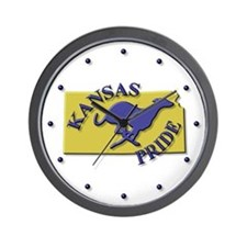 Greyhound Wall Clock/KS Pride