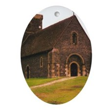St. Martha's Oval Ornament