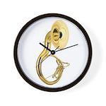Sousaphone Wall Clock