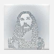 Jesus said what? Tile Coaster