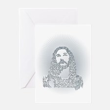 Jesus said what? Greeting Card