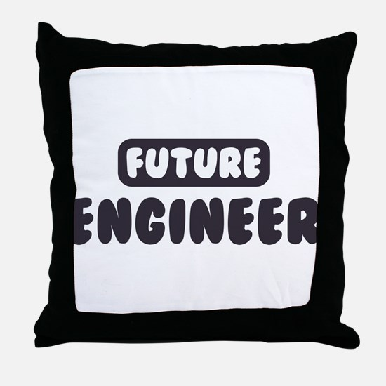Future Engineer Throw Pillow