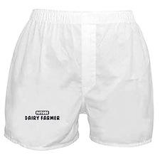 Future Dairy Farmer Boxer Shorts