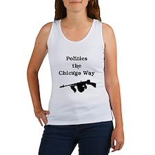 Politics the Chicago Way Women's Tank Top