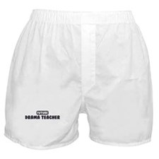 Future Drama Teacher Boxer Shorts