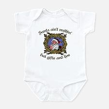 Santa Gifts and Hos Infant Bodysuit