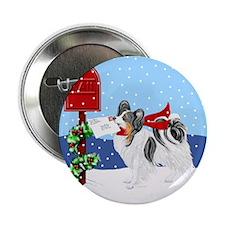 Christmas Papillon Mail Tri Button