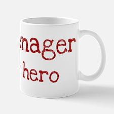 Teenager is my hero Mug