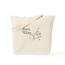 Born to Write Tote Bag
