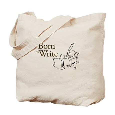 Born to Write Tote Bag