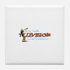Dirty South Television Tile Coaster