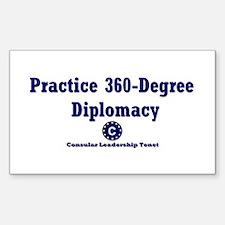 DP-Practice 360-Degree Diplomacy Decal