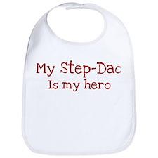 Step-Dad is my hero Bib