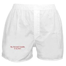 Second Cousin is my hero Boxer Shorts