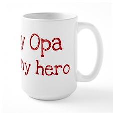 Opa is my hero Mug