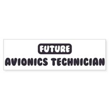 Future Avionics Technician Bumper Bumper Sticker