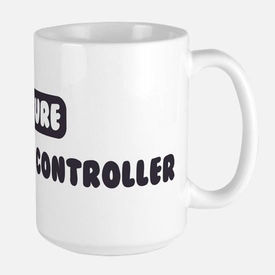 Future Air Traffic Controller Large Mug