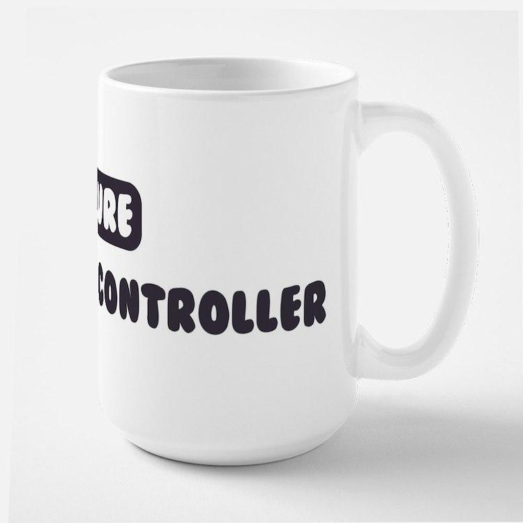 Future Air Traffic Controller Large Mug
