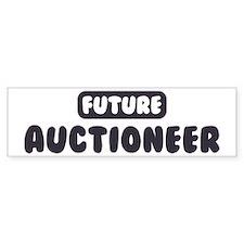 Future Auctioneer Bumper Car Sticker