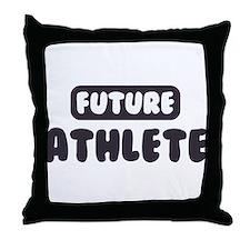 Future Athlete Throw Pillow