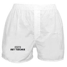 Future Art Teacher Boxer Shorts