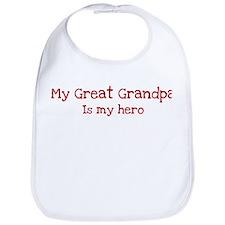 Great Grandpa is my hero Bib